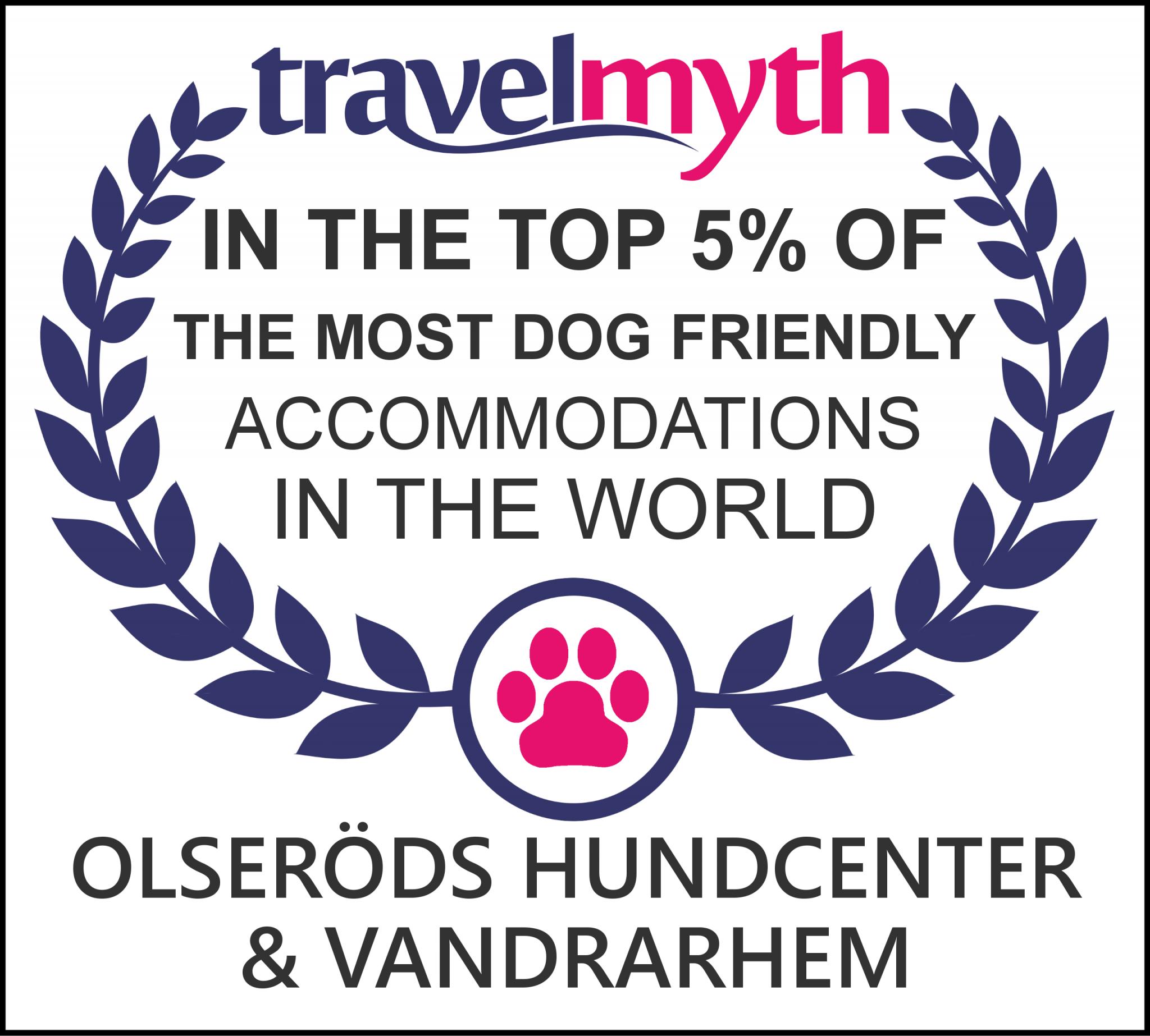 Travelmythdogfriendlyaward